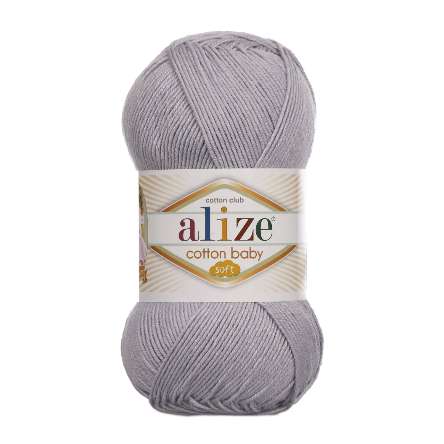 COTON BABY SOFT 362 GRİ ALİZE